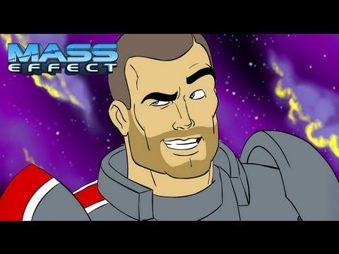 The Mass Effect Cartoon #aprilfools