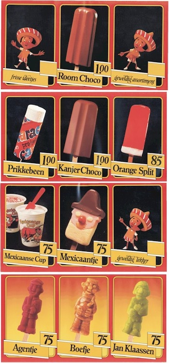 dutch ice cream from the '80s