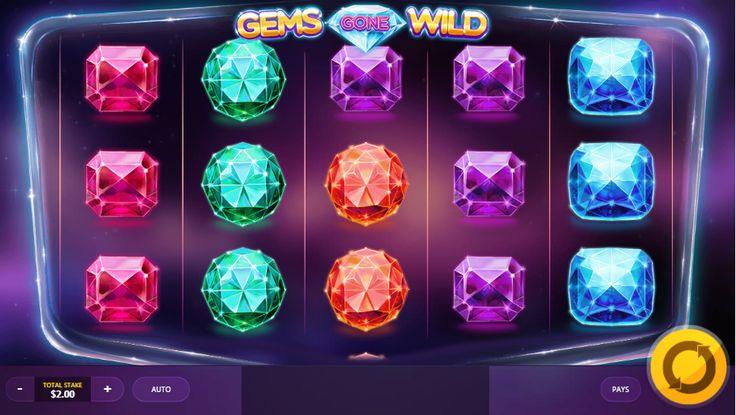 Gems Gone Wild - http://www.777free-slots.com/free-slot-online-gems-gone-wild/