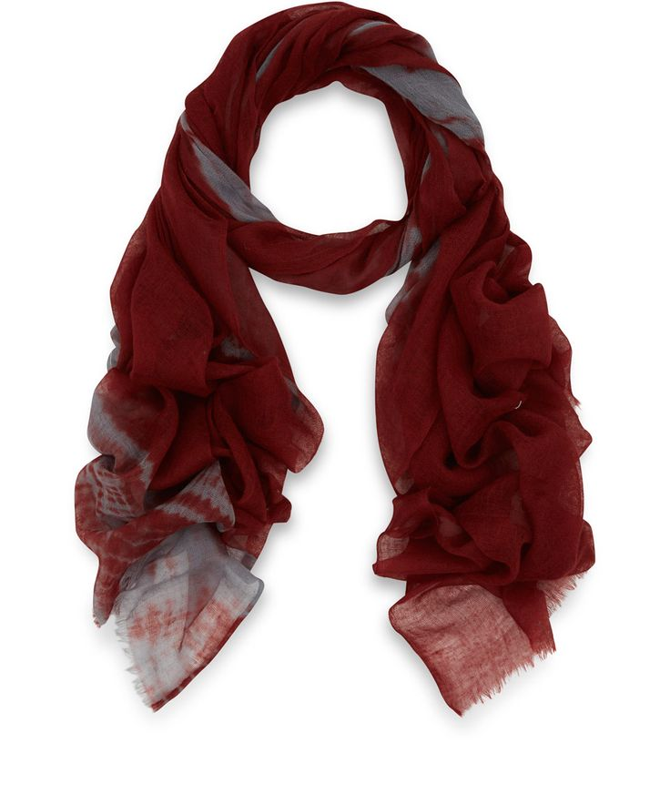 Me and Kashmiere Red Dekka Cashmere Scarf | Scarves | Liberty.co.uk