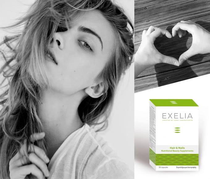 #SHOW_THE_LOVE Δείξε την αγάπη σου στα μαλλιά και τα νύχια σου, φροντίζοντάς τα με το νέο συμπλήρωμα διατροφής #EXELIA Hairs & Nails που θα βρεις εδώ: http://www.exelia-cosmetics.com/…/hair-and-nails-supplements