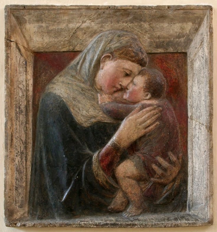 Donatello (1386 - 1466) - Madonna and Child