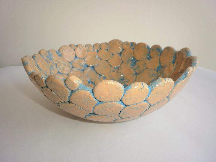 how to make a clay bowl by hand