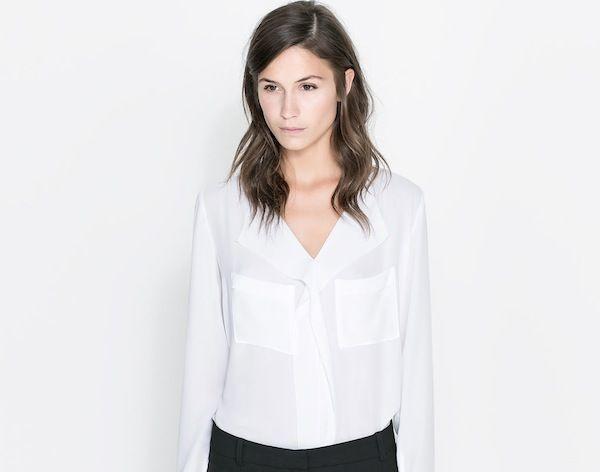 La moda autunnale è basic: il ritorno della camicia bianca