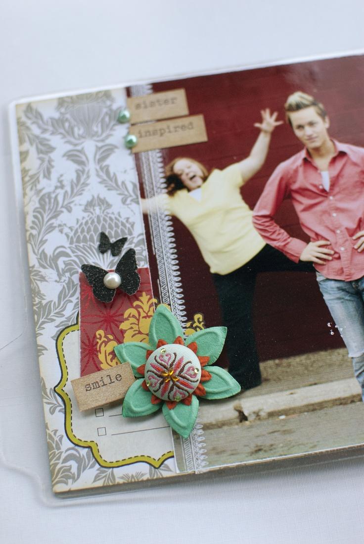Scrapbook ideas mini books - Siblings Mini Book By Mitchell Kraft