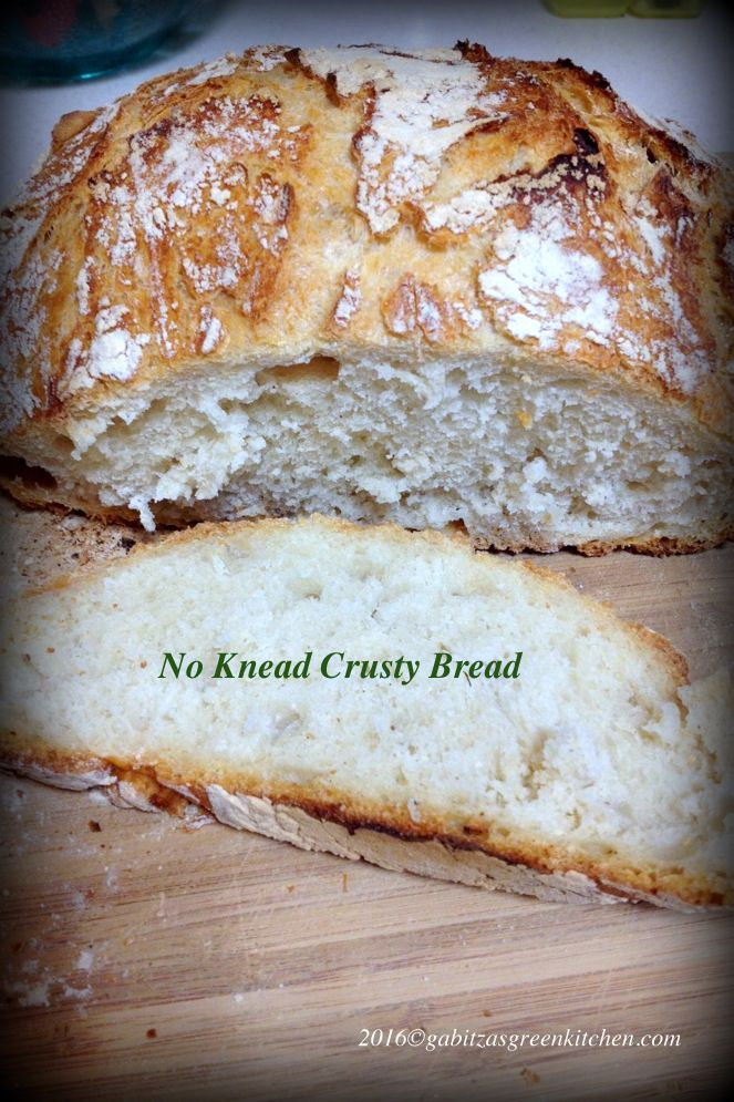 No Knead Bread-The Simple Way To Make Delicious Bread from scratch. Easy, easy, easy! And delicious!