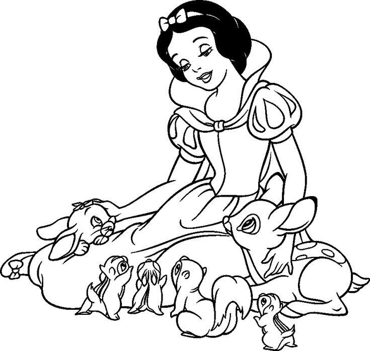 Черно белые картинки с красным принцесс