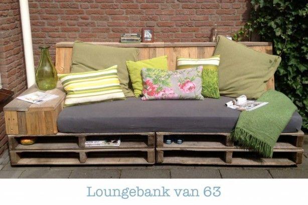 loungebank tuin - Google Search