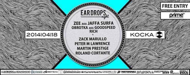 Eljött a tavasz, így az Ear Drops-os fiúk ismét kiteszik a lábukat a PrimeFM falai közül és a tavalyihoz hasonló mókázásra hívják a house, deep house, UK house szerelmeseit.   A teljes cikk a www.partyweb.hu oldalon olvasható!  #ingyenes #forró #Surfa