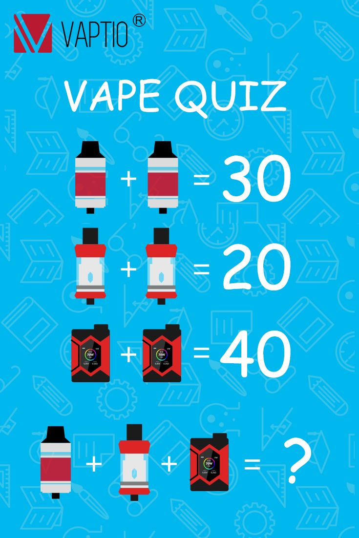 Vape Quiz! What's your answer? #vaptio #vape #vaping