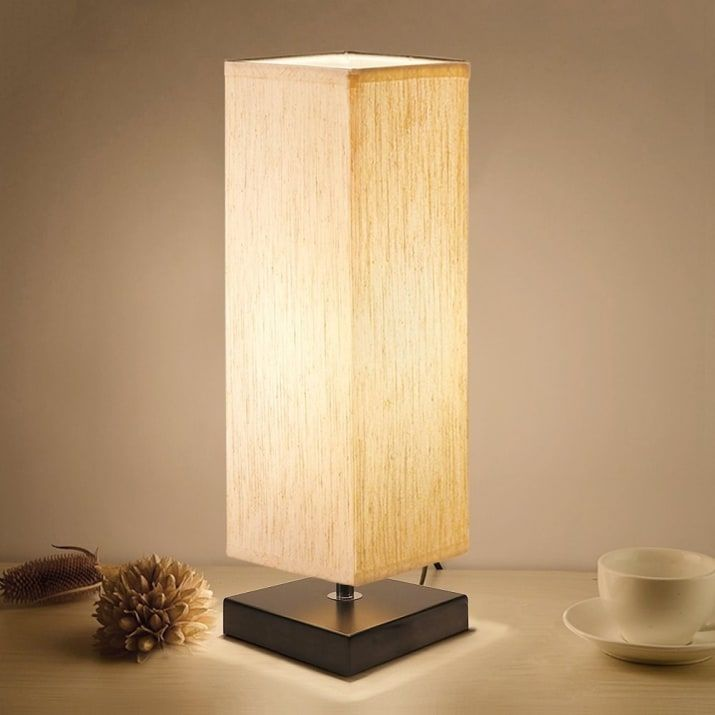 table lamp wood bedside desk lamps