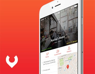 """Check out new work on my @Behance portfolio: """"Yummzy - Mobile App Concept (UX, UI, IxD)"""" http://on.be.net/1OgK1Jp"""