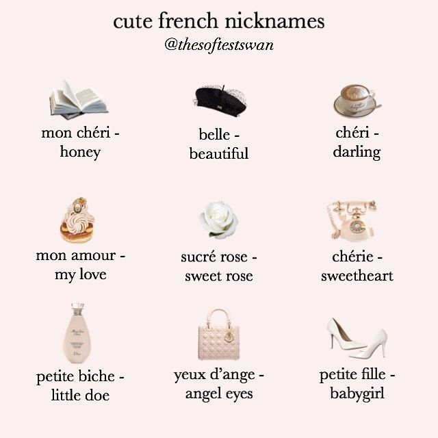 hi loves! ♡ I thought this would be a cute idea & since I've made 2 nickname…