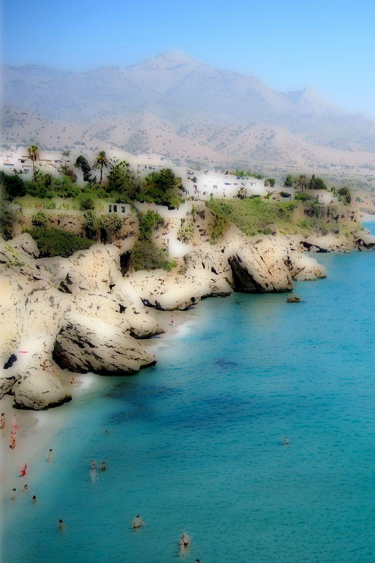Salobrena beach just 15 mins from the beautiful village of Velez Benaudalla www.thesecretspain.com