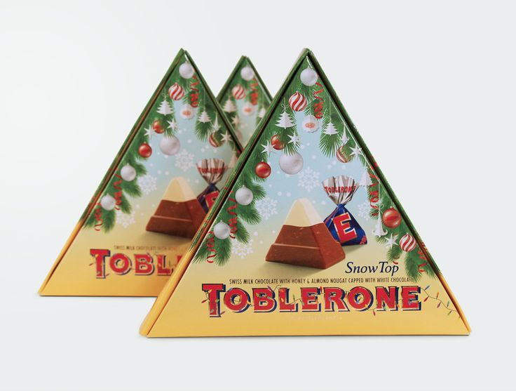 New year special edition  #packaging #design for #Toblerone