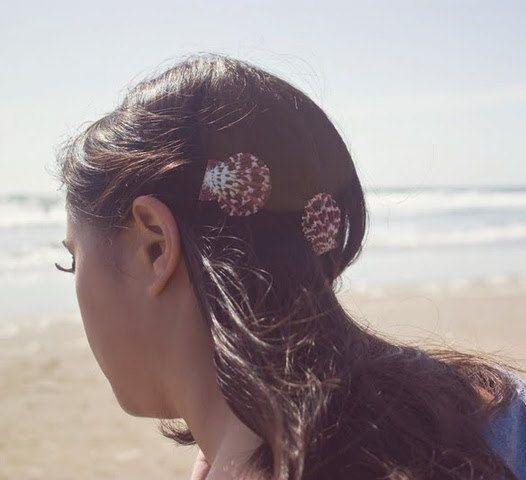 Capesante Seashell Barrettes Shell Barrettes Seashell capelli clip Sea Shell capelli clip sirena capelli spiaggia del mare accessori per capelli da sposa da sposa
