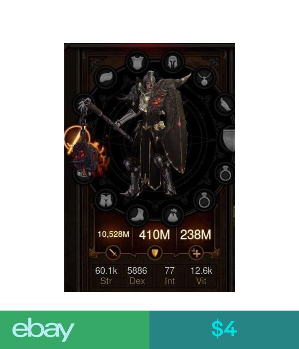 4 Diablo 3 Ros Ps4 Crusader Primal Ancient Modded Armor Of