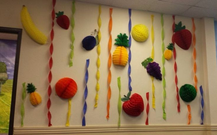 Simple tissue Fruit and Streamers | VBS Gotta Move - Go