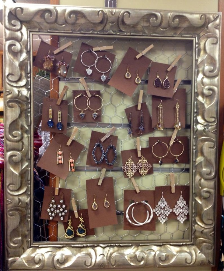 We have some gorgeous earrings at The Boutique at The University of Tennessee Bookstore!