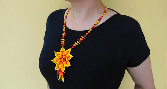 Joyería mexicana joyería Huichol suroeste joyería collares