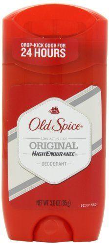 Old Spice High Endurance Original Scent Men's Deodorant 3 Oz by Old Spice via https://www.bittopper.com/item/old-spice-high-endurance-original-scent-mens-deodorant-3/