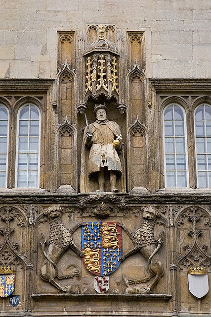 Great Gate of Trinity College, Cambridge, England