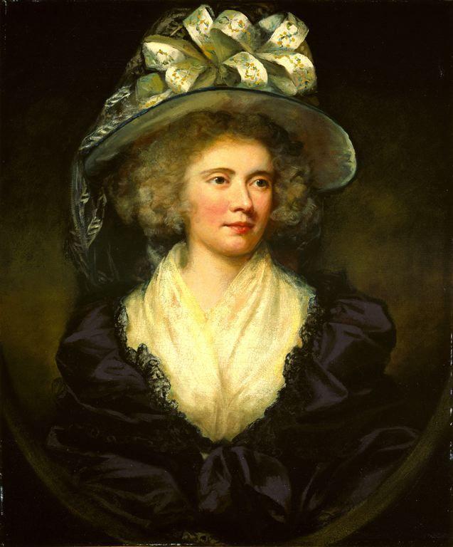 James Northcote  British, 1746-1831  Mrs. Allan Maconochie, 1789  Oil on canvas 30 1/16 x 25 1/16 in.