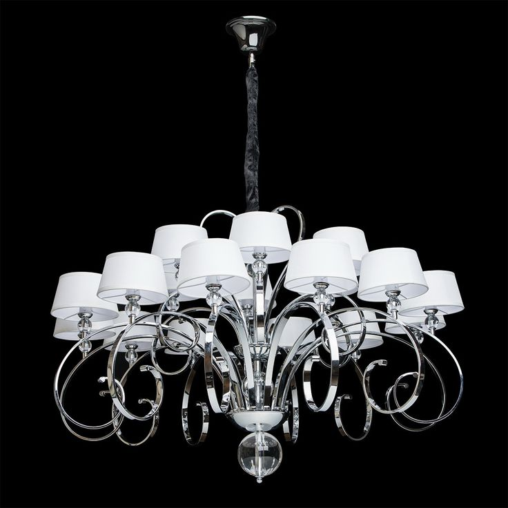 72 best lighting images on pinterest ceiling lamps ceiling lights big crystal chandelier white fabric shade chrome colour clear crystal contemporary baroque 18 bulb 120cm mozeypictures Gallery