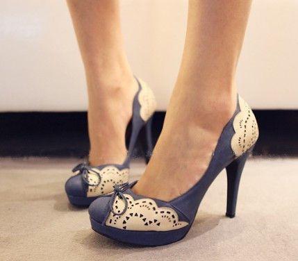 .Wedding Shoes, Lace Heels, Blue Lace, Blue Shoes, Lace Shoes, White Lace, High Heels, Something Blue, Lace Details