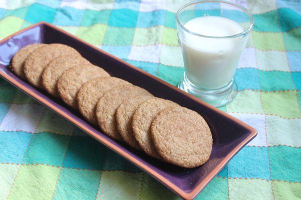 Maple Snickerdoodles with milk | Cookies | Pinterest