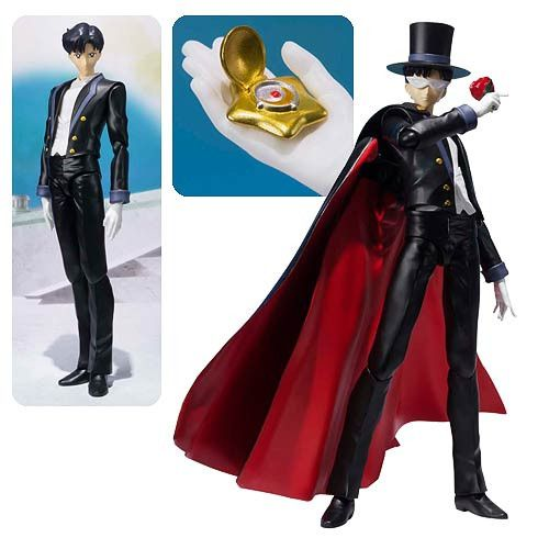 Sailor Moon Tuxedo Mask SH Figuarts Action Figure