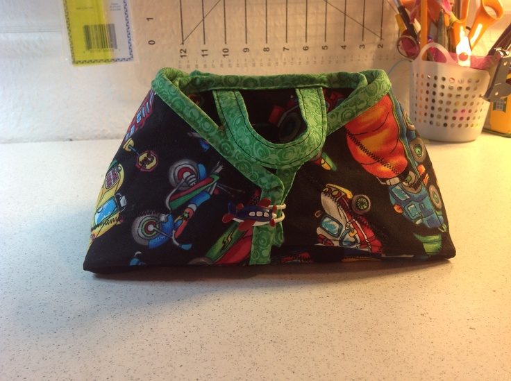Boys bag from iron tote