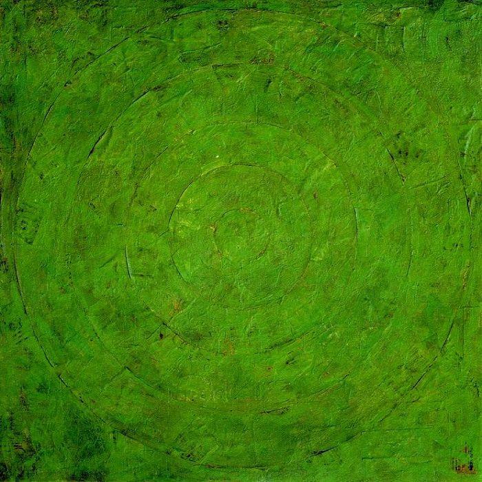 """""""Зеленая мишень"""" Джаспер Джонс (англ. Jasper Johns, р. 1930) – американский художник, известный своими поп-арт работами. Биография, картины: http://contemporary-artists.ru/Jasper_Johns.html"""