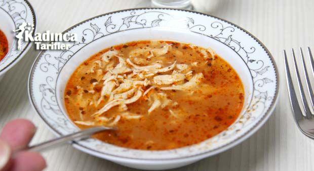 Sarımsaklı Tavuk Çorbası Tarifi | Kadınca Tarifler | Oktay Usta - Kolay ve Nefis Yemek Tarifleri Sitesi