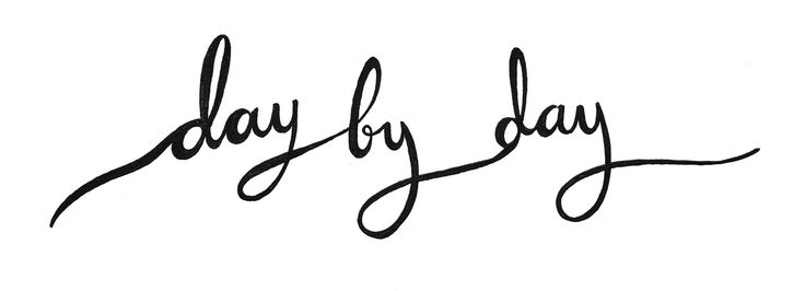 Day by day ❥