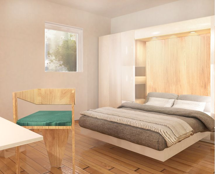 The perfect bedroom in EFdeN vision