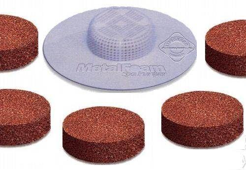 Metal Foam Purifier High Porosity Disc For Spas 5 pack - Pool and Spa Supply Store