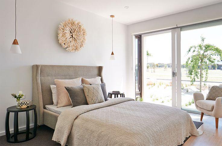 Hamlan Homes bedroom #BancooraVista #ZeallySands #Torquay