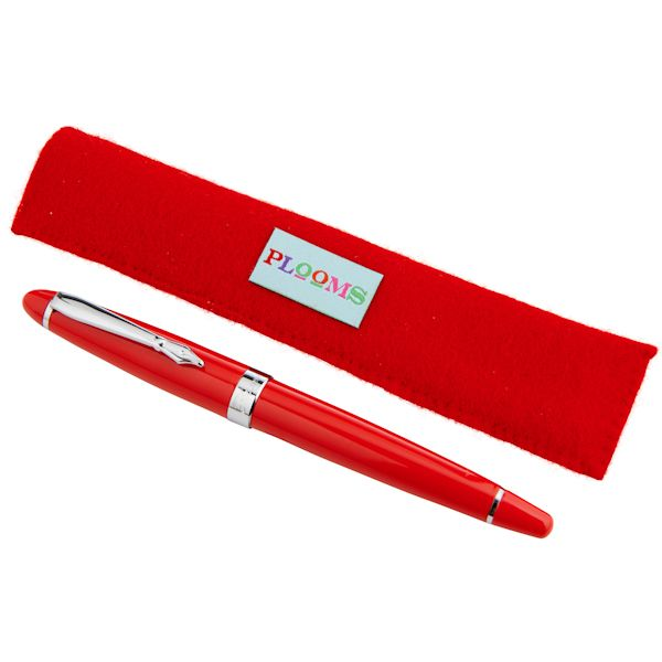 Fortnum and Mason - Plooms Classic Fountain Pen - Red