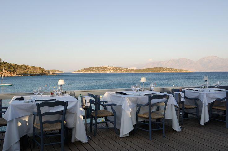 Our La Bouillabaisse Restaurant. Enjoy haut cuisine and superb fish dishes by the sea!