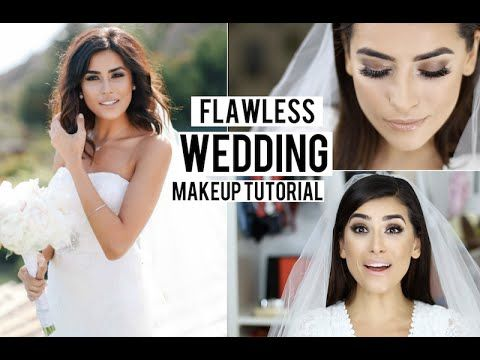 My Bridal WEDDING Makeup RECREATION (LOTS of TIPS!) - YouTube