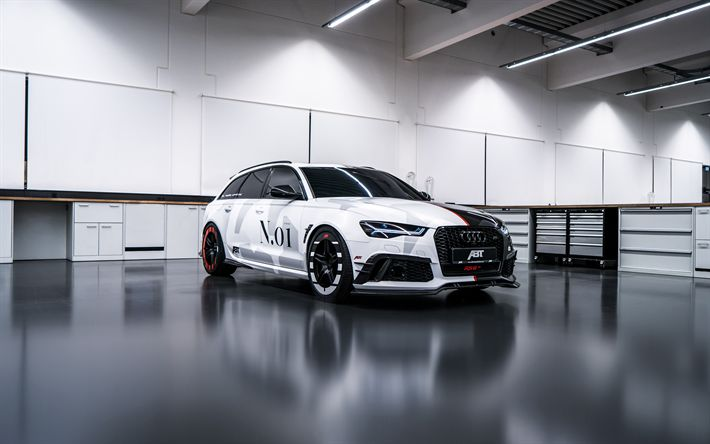 Download wallpapers 4k, Audi RS6 Avant, tuning, 2018 cars ...