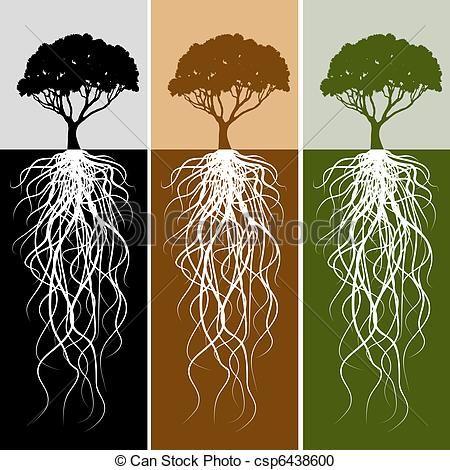 Clip Arte Vetorial de vertical, árvore, raiz, bandeira, jogo - um ...