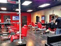 barber shop salon design ideas