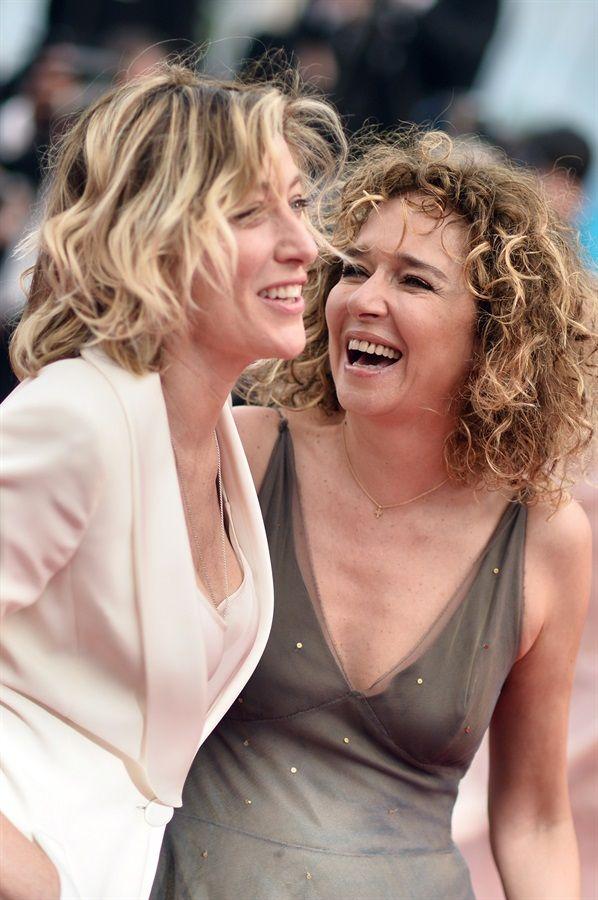 Valeria Golino e Valeria Bruni Tedeschi a Cannes.