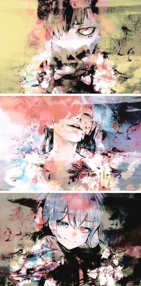 Speak no Devil/See no Evil/Hear no Evil  - tokyo ghoul re manga cover volume 12 11 10  mutsuki urie saiko