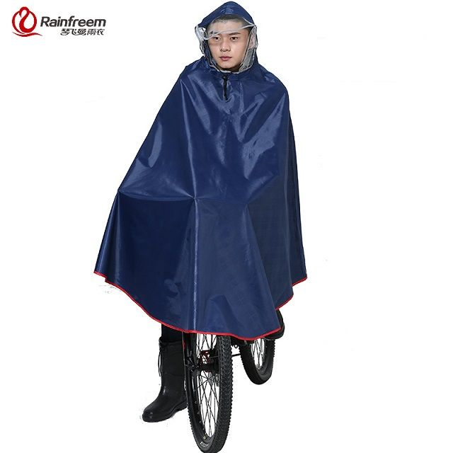 Rainfreem Impermeable Raincoat Women&Men Thick Bicycle Rain Poncho Plaid Oxford/Knitting Jacquard Women Waterproof Rain Gear-in Raincoats from Home, Kitchen & Garden on Aliexpress.com | Alibaba Group