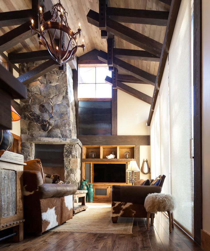 Blending Texas Style With Mountain Rustic In Tahoe: Austin Cabin