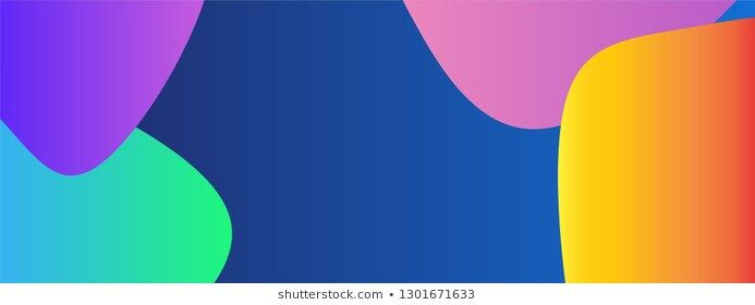 Colorful Gradient Modern Banner Web Background Template Vector