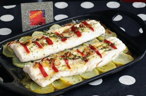 Merluza a la Donostiarra: Spanish Food, La Donostiarra, Favorite Recipes